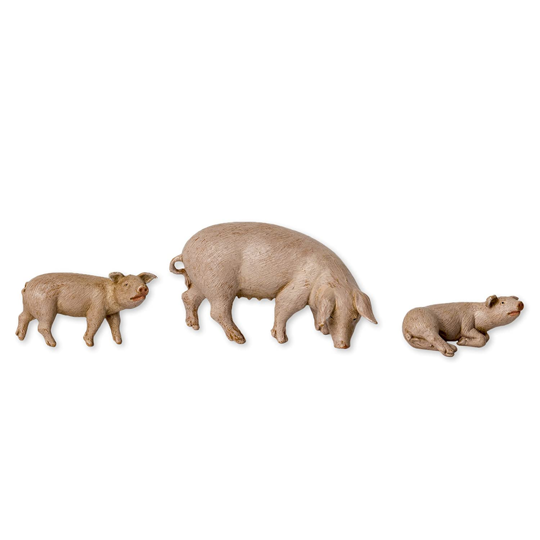 Fontanini Pig Family Animals Italian Nativity Villager Figurine Set of 3 54081 Roman