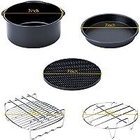 Family Kitchen Helper Air Fryer Accessories Kits (Set of 5) Fit Gowise Philips Cozyna 3.7QT 5.3QT 5.8QT