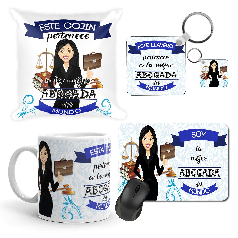 Kembilove Taza de Café de la Mejor Abogada del Mundo – Taza de Desayuno para la Oficina – Taza de Café y Té para Profesionales – Taza de Cerámica ...