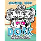 Dork Diaries Coloring Book Dork Diaries Coloring Book Is A Fun Coloring Book With Many Lovely Expressions Of Dork Diaries To Help The Children Satisfy Their Passion For Painting Martha Skriver 9798561632686