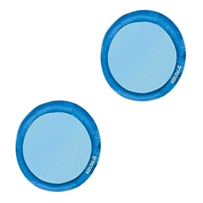 SwimWays Float A Round Adult Swimming Pool Floating Chair up to 250 lbs (2 Pack): Toys & Games