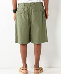 Cotton Gurkha Shorts 1119-699-0826: Olive