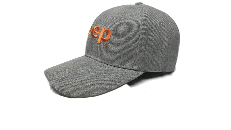 Jeep hat for Men with Punkn Orange Logo