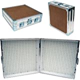 Pegboard Display And Storage Portable ATA Case   Opens To 48 Wide X 24 High