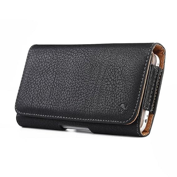 cheap for discount 7d479 b63ea for Razer Phone 2, Razer Phone Premium Horizontal Leather Case (Also fit  Razer Phone w/Slim or Ultra Thin case on)