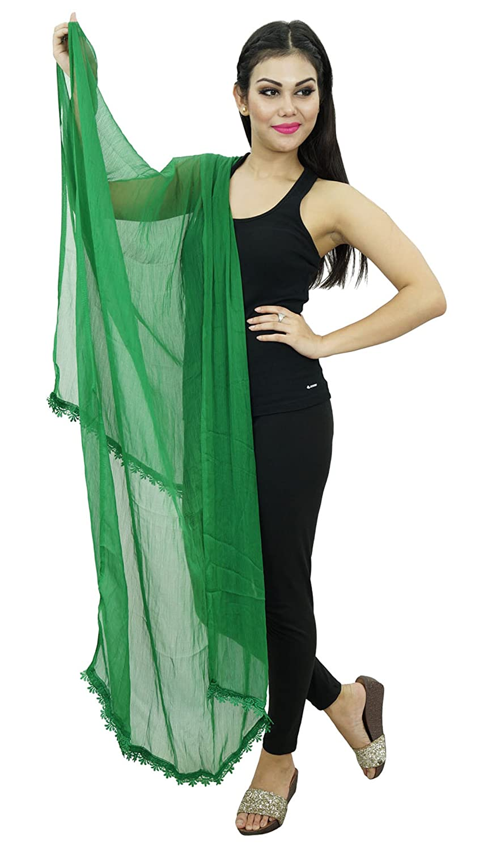 Chiffon Mischung Dupatta Frauen Ethnische Chunni Mode Stola Traditionelle indische Kleidung