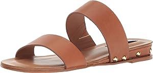 Steve Madden Women's Dakotas Cognac Leather Sandal