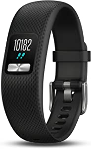 Garmin- Smartwatch 010-01847-00, Vivofit 4,  color Negro,  Chico/Mediano