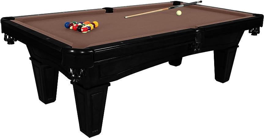 harvil Toscana Onyx pizarra mesa de billar 2,4 metros. Incluye entrega in situ, instalación y accesorios, Camel: Amazon.es: Deportes y aire libre