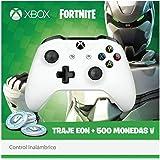 Control Inalámbrico Xbox One - Standard Edition - Blanco + Bonus Fortnite (Traje de Eon + 500 Monedas V)