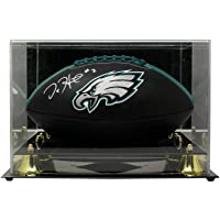 $392 » Jalen Hurts Signed Philadelphia Eagles Black Logo Football w/Case JSA ITP - Autographed Footballs