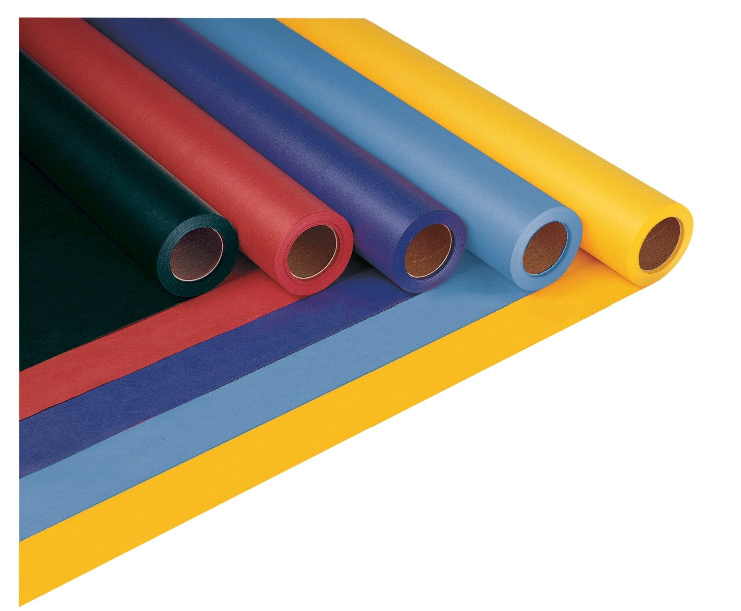Riverside Paper Decorol Papierrollen, schwer entflammbar, 91,4 cm x 305 m, Himmelblau
