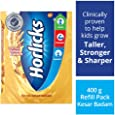Horlicks Health & Nutrition drink - 400 g Refill pack (Kesar Badam)