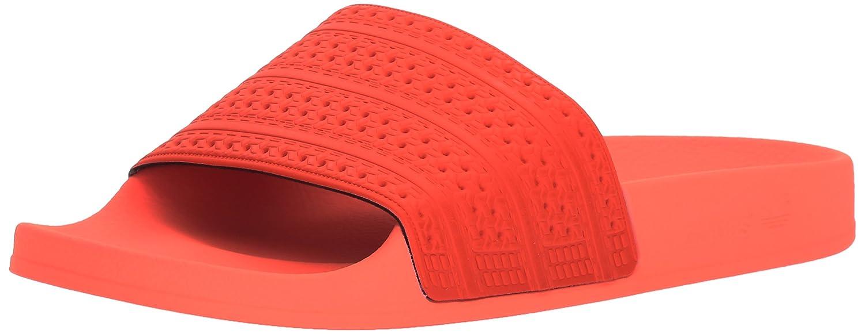 adidas Men's Adilette Slide Sandal B01MXY17UB 10 D(M) US|Easy Coral/Easy Coral/Sun Glow