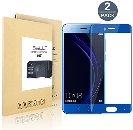 18 opinioni per [2-Pack]Huawei Honor 9 Pellicola Protettiva, EasyULT 2 Pack Copertura Completa