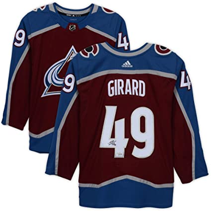 bb15a942113 Samuel Girard Colorado Avalanche Autographed Burgundy Adidas Authentic  Jersey - Fanatics Authentic Certified