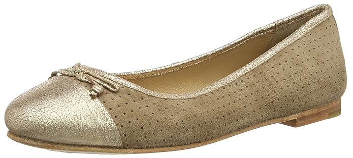 Marc Shoes Bea, Damen Geschlossene Ballerinas, Grau (Taupe-Combi 261), 39 EU