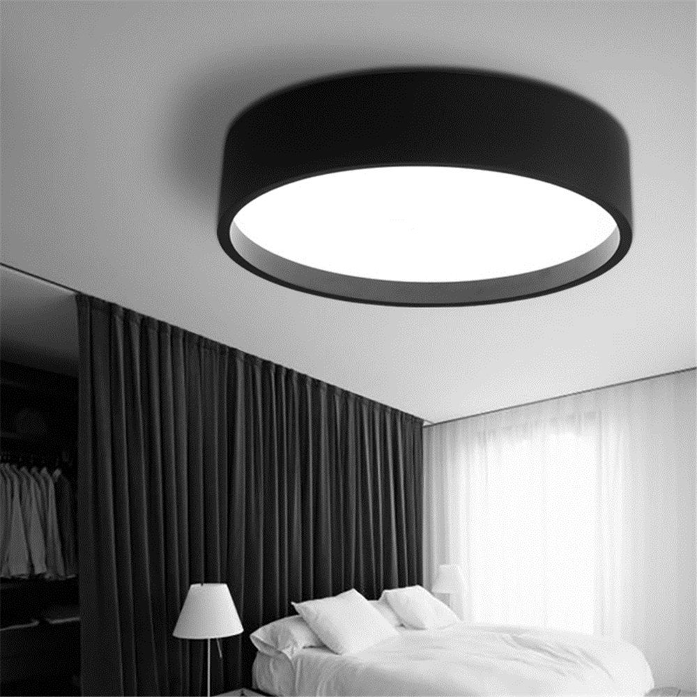Amazon.com: CGHYY Lámpara LED de techo simple y redonda ...