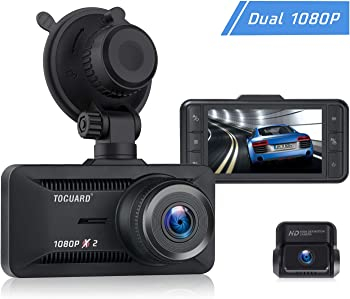 Toguard 1080P Dual Dash Cam