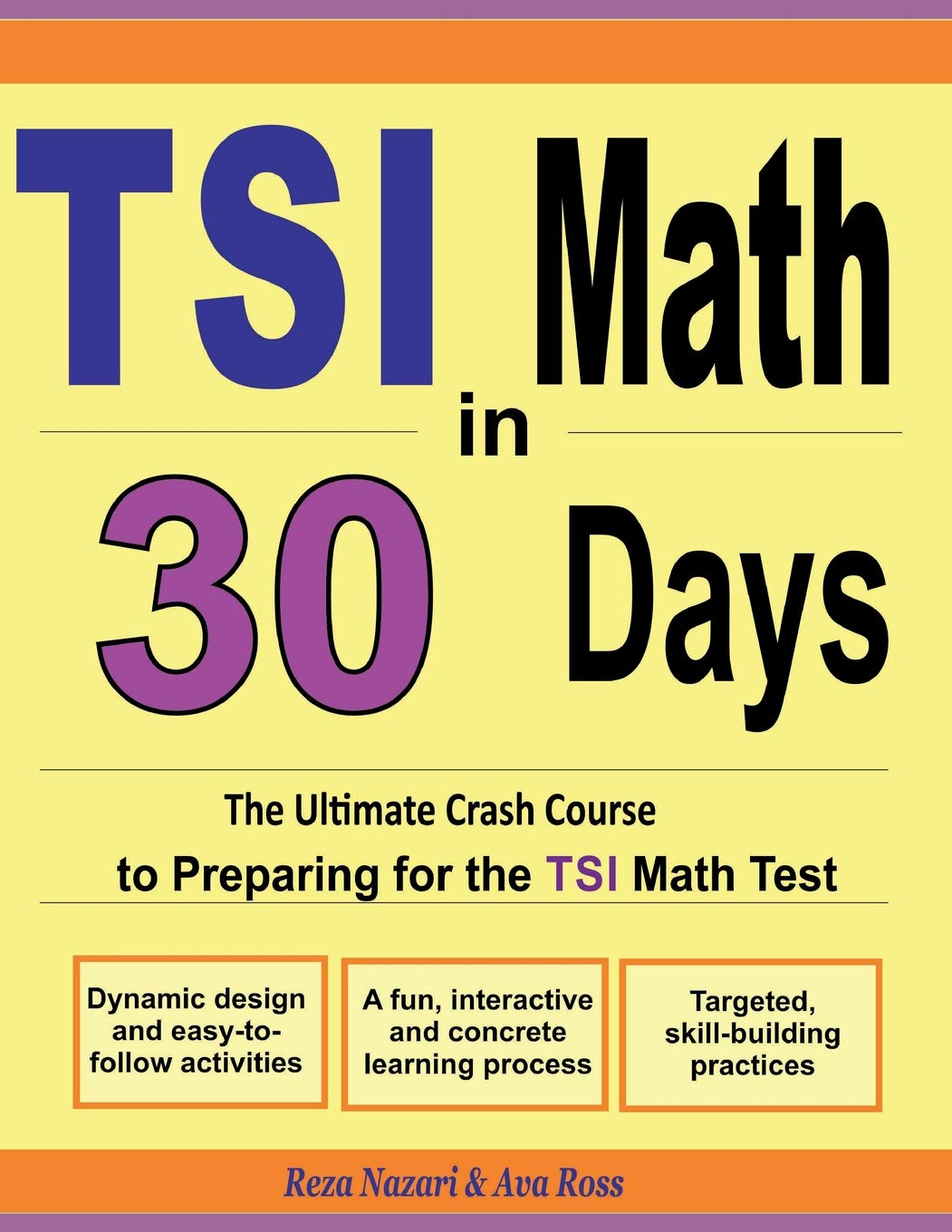 TSI Math in 30 Days: The Ultimate Crash Course to Preparing for the TSI Math Test pdf