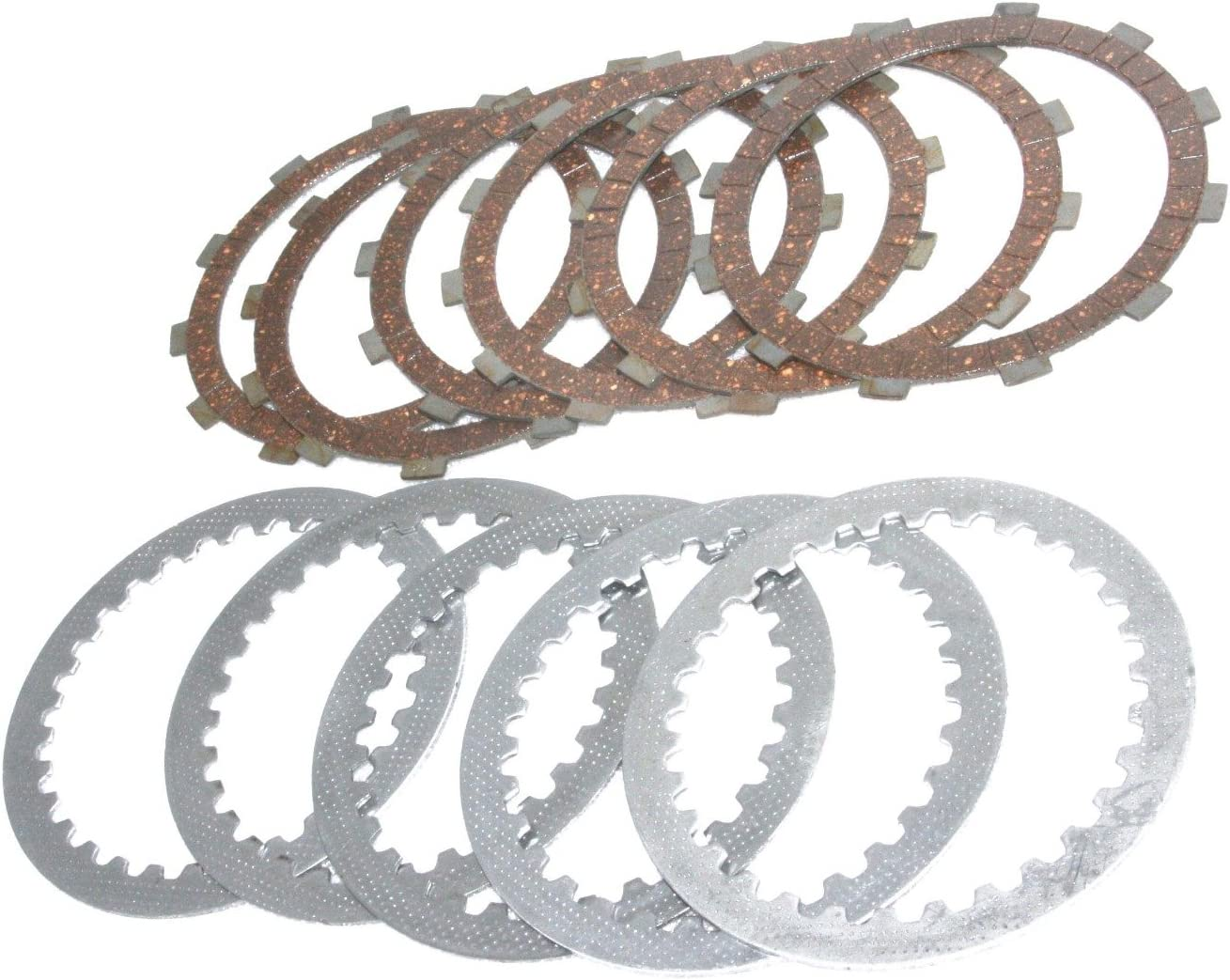 Enfield County Royal Enfield UCE 350 Genuine Clutch Plate Kit-Tbts # 597459