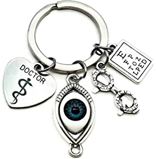 Optometris Related Charms Expendable Bangle Bracelet. Optician Ophthalmologist
