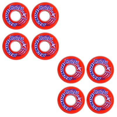 Labeda Wheels Inline Roller Hockey Patriot Goalie 8-Pack 59mm Indoor Goal : Sports & Outdoors