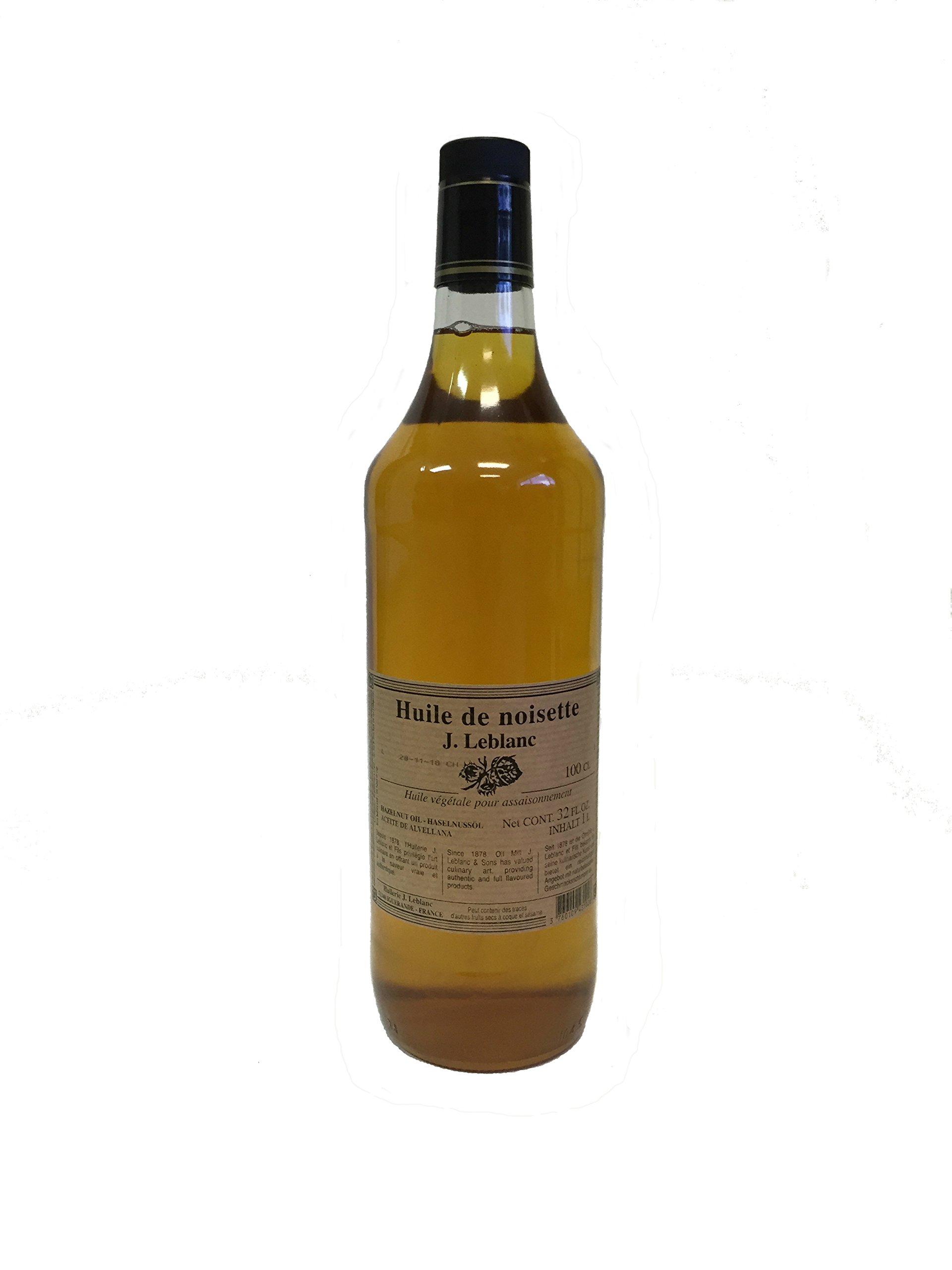 LeBlanc - French Hazelnut Oil - 1000mL