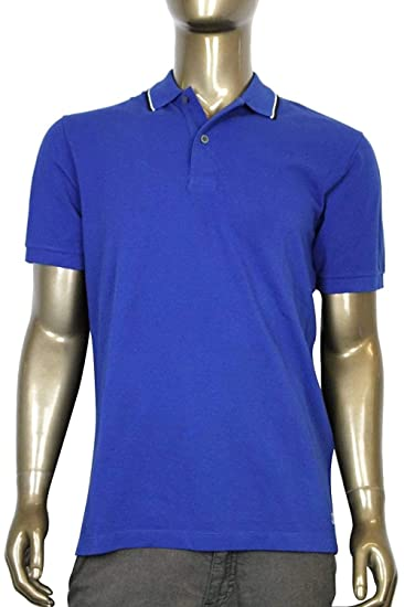 c75881cb Amazon.com: Gucci Men's Blue Cotton Jersey Polo Golf Shirt 354345 ...