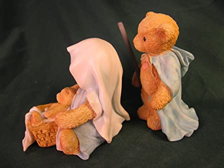 Josh, Maria and Baby… a Baby Is God s Gift of Love Cherished Teddies 950688