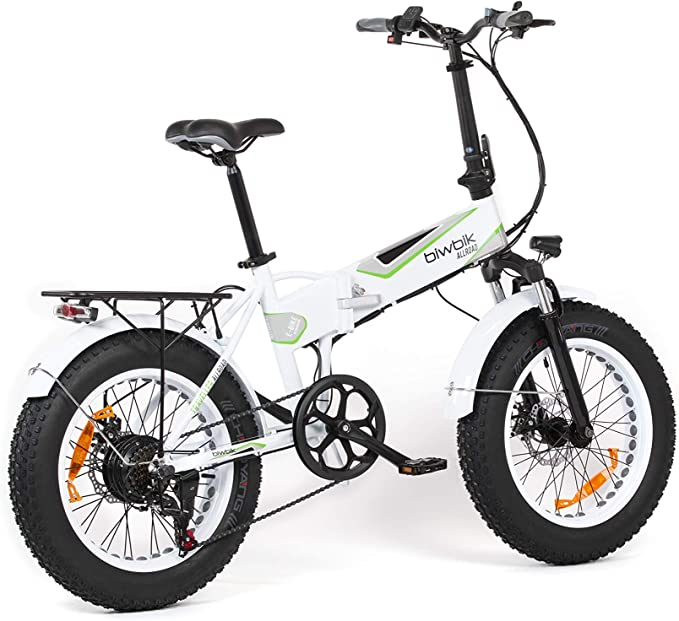 Bicicleta ELECTRICA Plegable Mod. Traveller (All Road Blanca ...