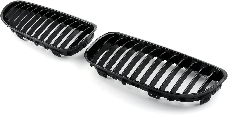 Areyourshop nero opaco frontale Rene grill mesh Grille naso per E90/E91/LCI 2009/ /2012