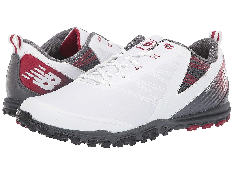 White/Maroon 2E [ニューバランス] [並行輸入品] B07N8GLLFP SL cm Minimus メンズゴルフシューズ靴 25.0 NBG1006