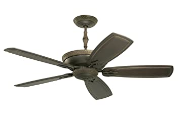 Emerson Ceiling Fans CF830GES Monaco Indoor Ceiling Fan With Wall ...