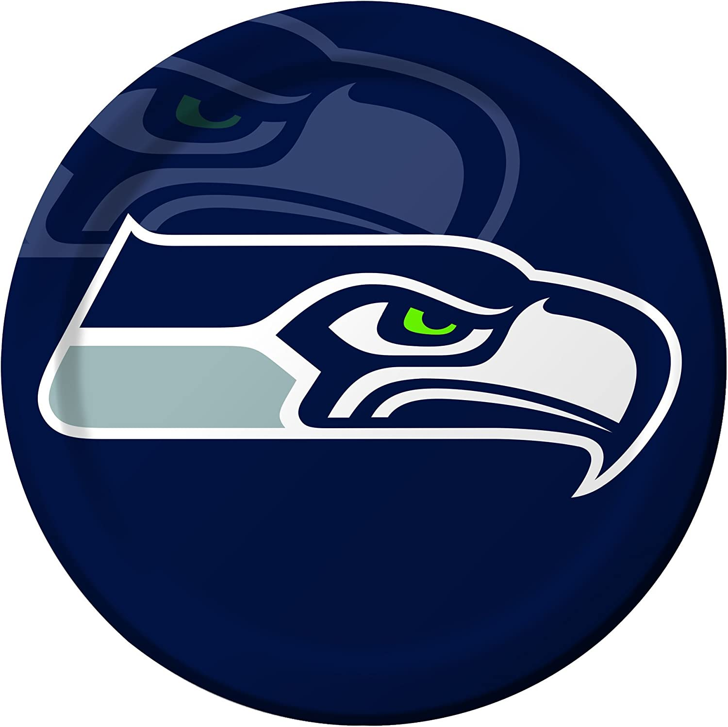 Creative Converting 8 Count Seattle Seahawks Paper Dinner Plates