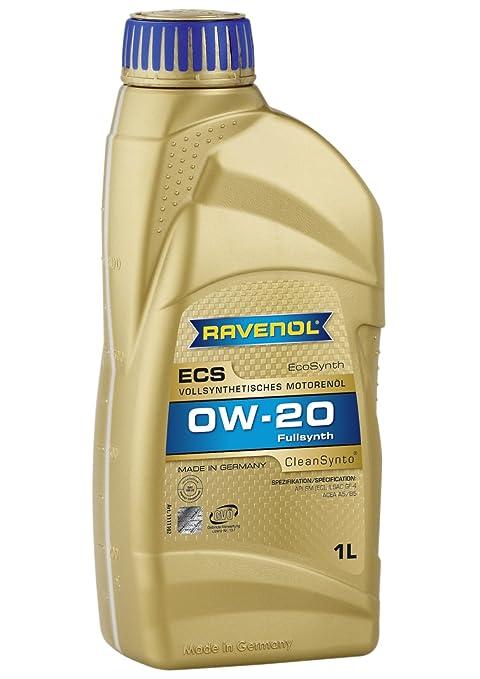 Ravenol j1 a1502 SAE 0 W-20 aceite de motor – ECS Full sintética API