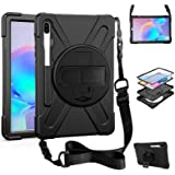ZenRich Galaxy Tab S6 10.5 Case 2019, zenrich Tab S6 Shockproof Case with Pen Holder Kickstand Hand Strap & Shoulder…