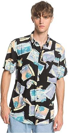 Quiksilver Vacancy - Camisa de Manga Corta para Hombre EQYWT03956: Amazon.es: Ropa y accesorios