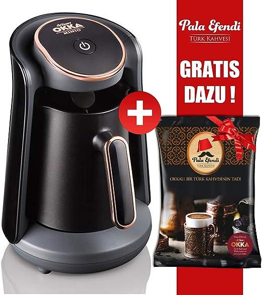 Arzum OKKA Minio - Cafetera de goteo (bronce, incluye pala Efendi ...