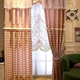Amazon カーテン レース 刺繍 姫系 可愛い 子供部屋 女子部屋 おしゃれ