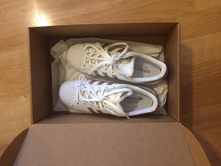 adidas Originals Women's Superstar Sneaker Fake? Not sure.