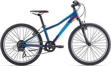 Giant - Bicicleta de montaña para niño de 24 pulgadas, horquilla ...
