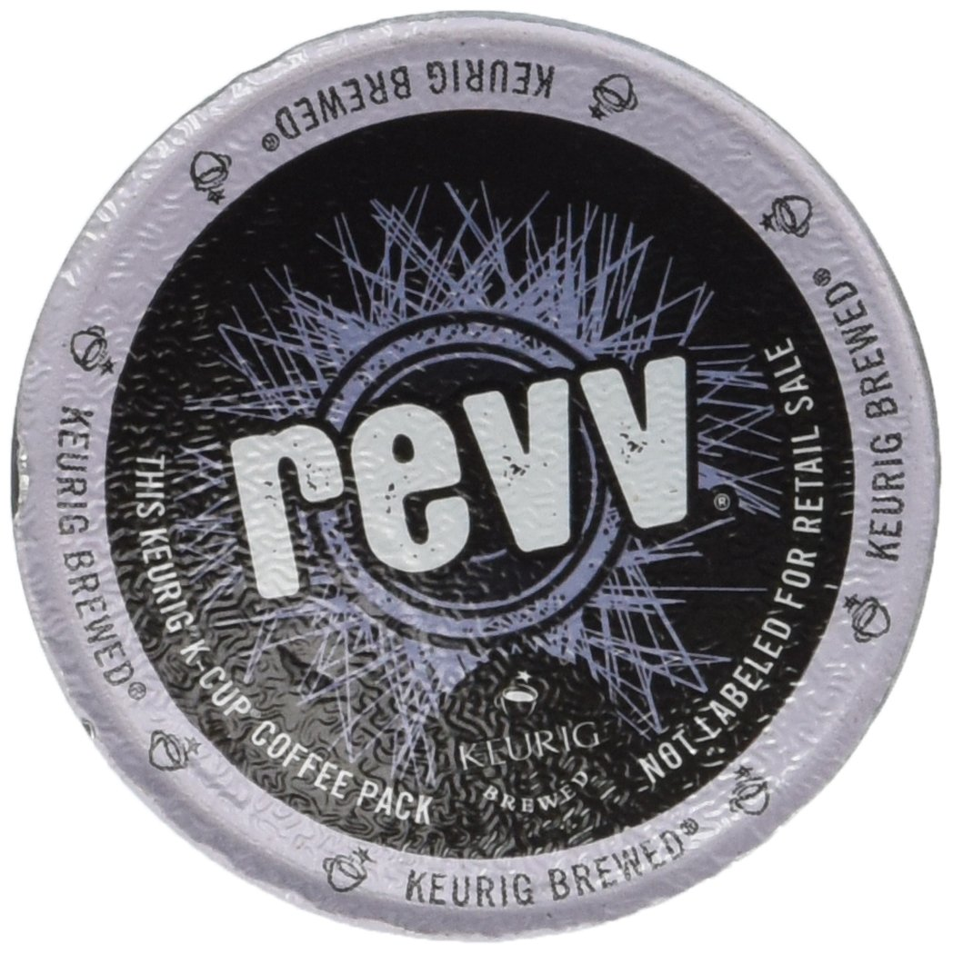 Revv K-Cup for Keurig Brewers, Dark Roast (Pack of 30), Ships in Brown Box
