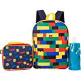 LEGO Classic Backpack Combo Set - Lego Boys' 4 Piece Backpack Set - Backpack & Lunch Kit (Multicolored)