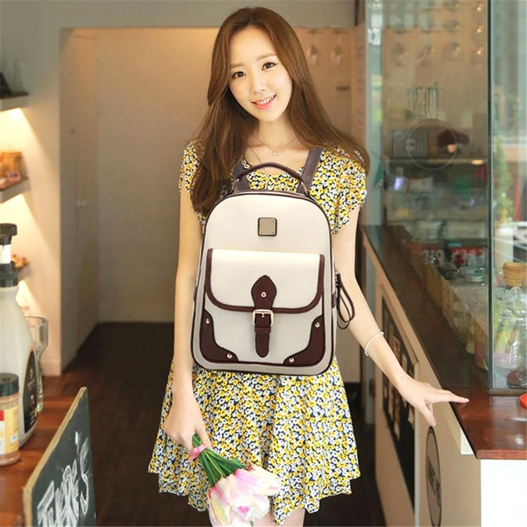 Amazon.com   Women Travel Bag Womens PU Leather Backpack Girls School Backpack   Kids Backpacks