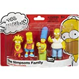 Die Simpsons Familie – 4er Figuren Pack – Homer, Marge, Bart und Lisa [UK Import]