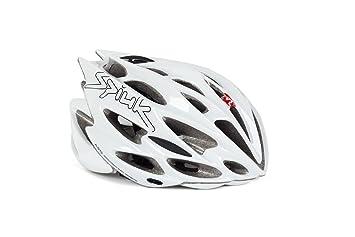 Spiuk Nexion - Casco de ciclismo, color blanco, talla 53-61