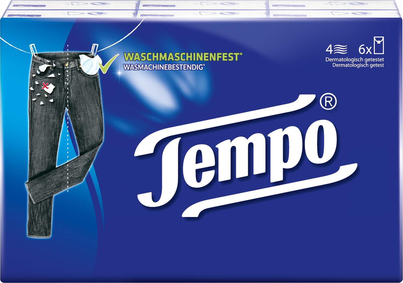 Tempo Taschentuch Klassik Taschent/ücher 6x10 T/ücher