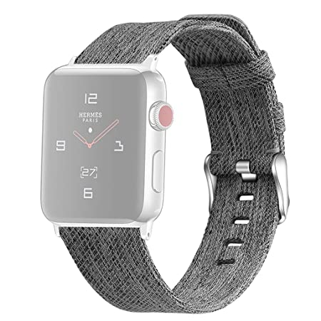 NIUQY Compatible/reemplazo para Apple Watch Series 1/2/3/4 ...