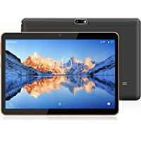 YOTOPT 10.1 Pouces Tablette Tactile - 3G/WiFi, Android 7.0 , Quad Core, 16 Go, 2 Go de RAM, Doule SIM, Bluetooth, GPS, OTG - Noir